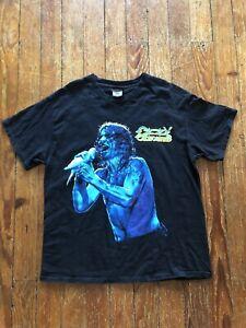 """Vintage Ozzy Osbourne """" Doves Revenge """" Concert shirt Sz L Winter Land Tag"""