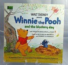 Walt Disney Winnie the Pooh and the Blustery Day Storybook Record Vinyl LP 1967