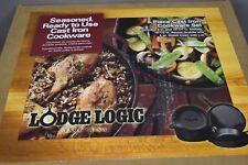 Lodge Logic 5-Piece Cast Iron Set L5HS3 Skillets Dutch Oven Griddle