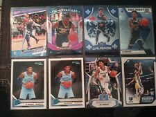 19-20 Ja Morant 8 Card Lot RC Crusade Pink Mosaic Prizm Donruss Rated Rookie 202