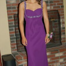 Prom Dress Size 4 Formal Evening Gown Purple Scala Design