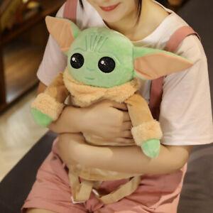 Star Wars Mandalorian Baby Yoda Backpack Back To School Bag Girls Kids Toy Bag