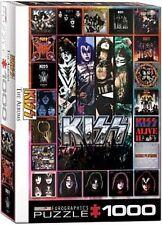 Kiss The Albums 1000 piece jigsaw puzzle 680mm x 490mm (pz)