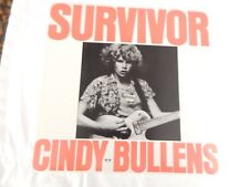 "Cindy Bullens ""Survivor"" RARE PROMO ONLY 12"" VINYL! NEW! NEVER PLAYED!"