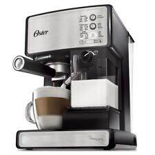 Oster Bvstem6601SS-033 Prima Latte Espresso Cappuccino Maker Stainless Steel