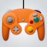 GameCube Controller Wired Orange for Nintendo GC Wii Console Joypad Gamepad