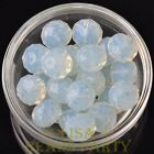 New 5pcs 16X12mm Big Crystal Glass Rondelle Faceted Loose Beads Opal White
