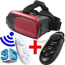 VR Occhiali 3D Realta' Virtuale VISORE + GAMEPAD Telecomando CELLULARE telefono