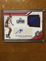 2019-20 Chronicles Mfiondu Kabengele Limited Auto Autograph Rookie RC Patch SP