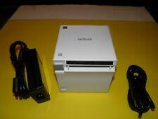Epson Tm M30 M335b 011 Thermal Receipt Pos Printer Bluetooth Slightly Used