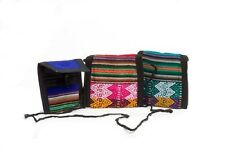 #587 Wholesale 12 Pack Coin Purse Assorted Colors Hand Woven Change Pouch Peru