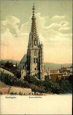 ESSLINGEN Neckar ~1900 Partie ad. Frauenkirche Kirche color AK Verlag Liebhardt