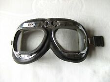 Old Pilot/Aviator/Flying/Motorcycle Goggles ideal for Re-enactment/Steam Punk