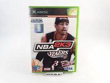 NBA 2K3 2003 BASKET MICROSOFT XBOX ORIGINALE e 360 PAL ITA ITALIANO COMPLETO
