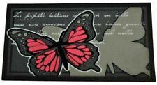 Doormat Flocked 40x70 Cms. Butterflies Flomat
