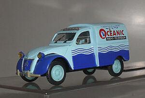 Norev 1/43 Cltroen 2 CV AZU Van Oceanic