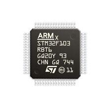 1Pcs STM32F103RBT6 LQFP64 CORTEX M3 128K Flash Memory 32 Bit Microcontroller