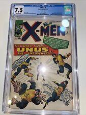X-men #8, cgc 7.5, silver age, 1964, new slab OFF WHITE