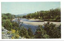 Vintage Postcard North Woodstock NH Pemigewasset River