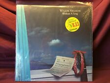 WILLIE NELSON; WITHOUT A SONG CBS RECORDS 1983 VINYL IN SHRINK **EX/VG**