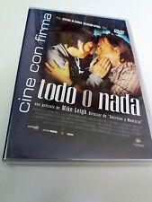 "DVD ""TODO O NADA"" MIKE LEIGH TIMOTHY SPALL LESLEY MANVILLE"