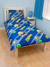 SINGLE BED THOMAS THE TANK ENGINE ROT CL TRAIN RAILWAY LINE ARROW BLUE YELLOW