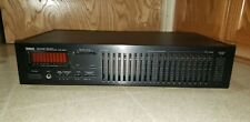 Yamaha Eq-550 Natural Sound Stereo Graphic Equalizer Exct