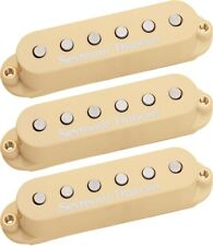 Seymour Duncan STK-S4 Classic Stack Plus Single Coil Strat 3 Pickup Set, Cream