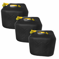 3x20L Benzinkanister Kraftstoffkanister Kraftstoff Reserve Kanister UN-Zulassung