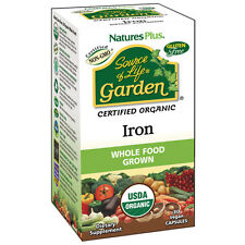 Nature's Plus Source of Life Garden Iron 30 capsules