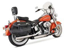 REMUS Custom Schalldämpfer Harley Davidson Softail ab Bj 07- in Edelstahl EG BE
