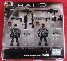 Halo Mega Bloks NMPD Customizer Pack