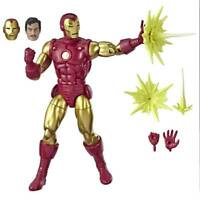 """Marvel Legends 80th Aniversary Series Classic Iron Man 6"""" Loose Action Figure"""