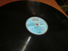"78RPM 12"" WOR Recording DuPont's America, As a Man Thinketh by Claude Rains V+"