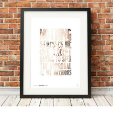 DWIGHT SCHRUTE stress quote ❤ The Office ❤ poster art LIMITED EDITION PRINT #13