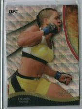 AMANDA NUNES 2018 Topps UFC Chrome Tier 1 GOLD 72/99