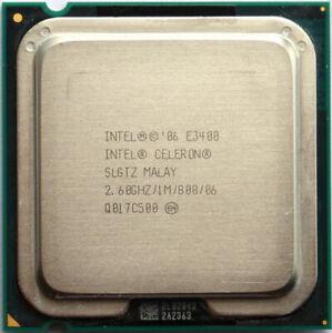 Intel Celeron Dual-Core E3400 CPU LGA775 SLGTZ 2.6/1M/800 Free Shipping