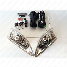 Clear Fog Driving Light Kit For 05-08 Toyota Corolla w/ Switch Relay Wiring Bulb