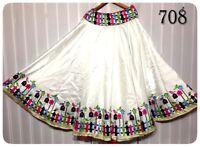 Pakistan Indian Designer Bollywood Wedding Ethnic Wear New Lehenga Choli Skirt