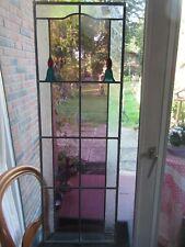 Antike Türverglasung,antikes Fensterbild,Bleiverglasung, Historische Baustoffe