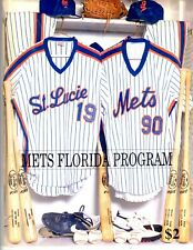 Mets Florida Program 1990 St. Lucie include Tribune Roster & Stats Fact Sheet