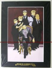 Fullmetal Alchemist Art Collection vol.12 picture w/frame official anime roy