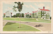 Dalhousie University Halifax Nova Scotia NS c1949 Postcard D80