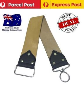 Leather Strop Strap Straight Cut Razors Barber Razor Sharpening Belt Strops