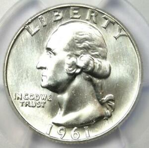 1961 Washington Quarter 25C - PCGS MS67 - Rare in MS67 Grade - $2,600 Value!
