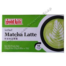 """""""Kili"""" instantánea Matcha café con leche de oro - 10 X 25g"""