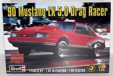 1990 Mustang LX 5.0 Drag Racer Revell Model Kit 85-4195 1/25 New Ford Car Model