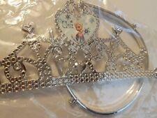 Disney Frozen Crown Elsa Tiara  Fancy Dress Princess - SILVER