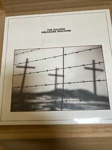 The Killers Pressure Machine Cd And Vinyl Bundle With Signed Brandon Art Card