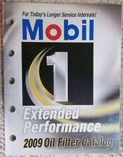 2009 Mobil 1 Extended Performance Oil Filter Catalog # Mobil 109